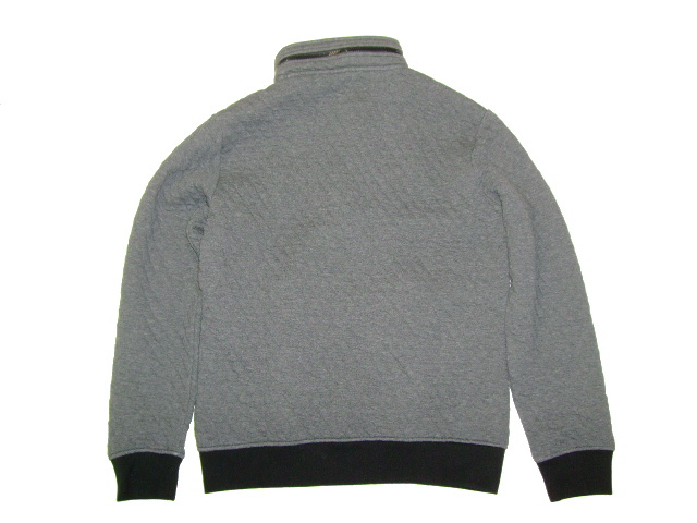 GAS Thema.PW01 Item.SWEAT SHIRTS Style No.552193 Material No.186056 STYLE NAME.TENDER/S QUILT Color.1987 STORM MELANGE