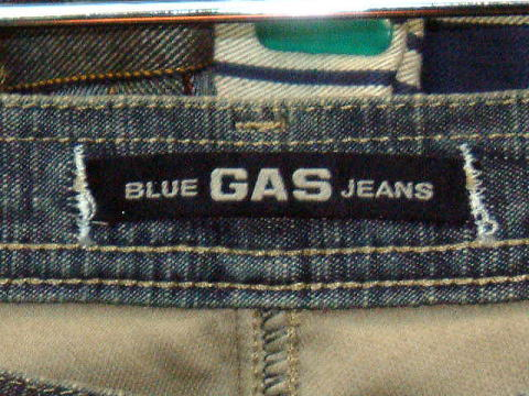 GAS RYO BOOT LIGHT FLAME' DENIM 0599 D BJ1C 29inch