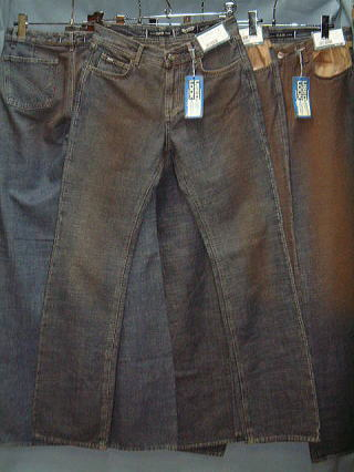 GAS BOOT CUT LIGHT FLAME' DENIM 0599 D BJ1C 29inch