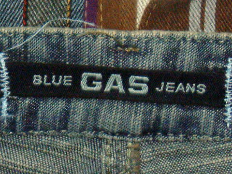 GAS JEANS Vivienne/5 Light Flame'Denim 0599 D BJ1C 25inch