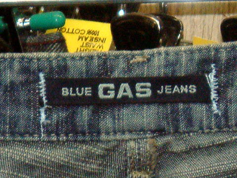 GAS JEANS Vivienne/5 Light Flame'Denim 0599 D BJ1C 28inch