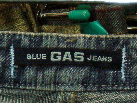 GAS JEANS Vivienne/5 Light Flame'Denim 0599 D BJ1C 31inch
