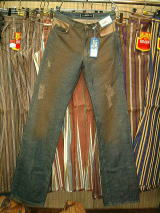 GAS JEANS Ryo Boot Light Flame' Denim 0599 D BJ1C 27inch
